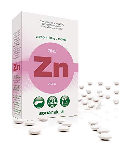 Soria Natural Zinc Retard - 48 Tabletas
