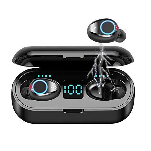 Auriculares Bluetooth, Afaneep 150H Playtime Auriculares Inalámbricos Control Táctil Estéreo Auriculares In-Ear Cancelación de Ruido CVC 8.0 IPX7 Impermeable con Micrófono para iPhone y Android