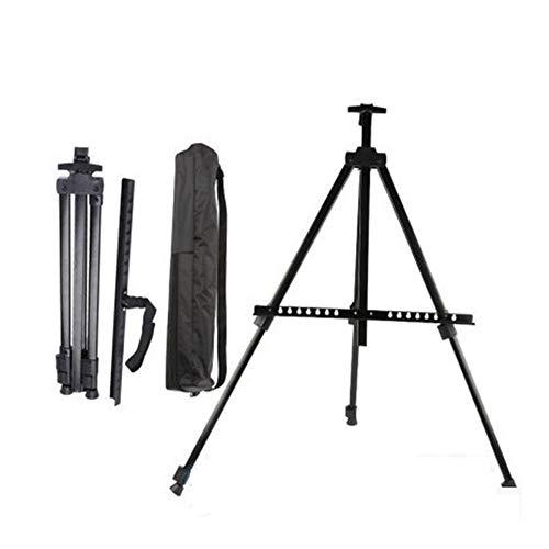 Telescopische inklapbare aluminium Ezel Statief Vertoning White Board Stand - for het schilderen Poster Picture doek Binnen/Buiten met Carry Bag 411