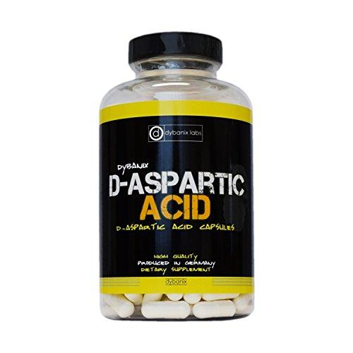 240 Kapseln D-Aspartic Acid 3280mg DAA Profi D-Asparaginsäure - + Natural -DAA Testo Booster + Muskelaufbau Bodybuilding usw