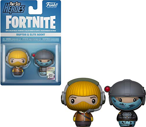 Pint Size Heroes: Fortnite: Raptor & Elite Agent