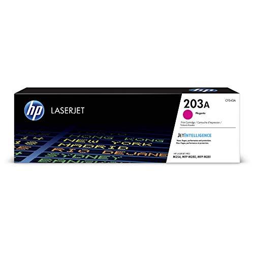 HP 203A (CF543A) Original Toner (für HP LaserJet Pro M254, HP LaserJet Pro M280, HP LaserJet Pro M281) rot