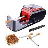 BILXXY Rodillo automático para Hacer Cigarrillos, Rodillo para fabricar inyectores de Tabaco, Herramienta para enrollar Cigarrillos, máquina inyectora de Cigarrillos los Amantes de los Cigarrillos