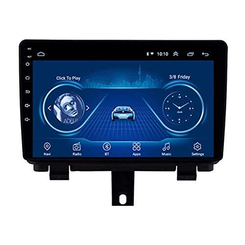 Navegador Estéreo De Radio De Coche De 9 Pulgadas para Audi Q3 2013-2017, FM/Bluetooth/WiFi/SWC/Mirror Link/Cámara De Visión Trasera,8 core-4G+WiFi: 1+16G