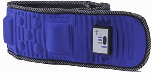 YBNB Ceinture De Massage Électrique 5 Moteurs Rejeter Les Vibrations De Graisse Minceur Perdre du Poids Fitness Circulation Sanguine Soins De Santé (Bleu)