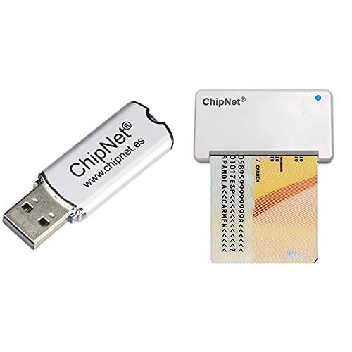 ChipNet Epass Seguridad Y Portabilidad para Su Certificado Digital Fnmt Y 7 Certificados Más Diseñado para Mac+ Lector De Dni Electrónico Mac Y Windows Funciona En Big Sur