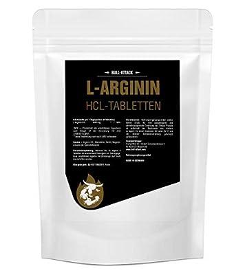 L-Arginine HCL - MASSIVE 180 TABLETS Pack, 1000mg Serving - BODY BUILDING Amino Acid - 1st CLASS P&P