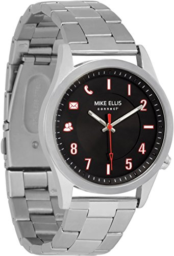 Mike Ellis Connect M4849H MEC Uhr Senator Edelstahl, Glieder Silber
