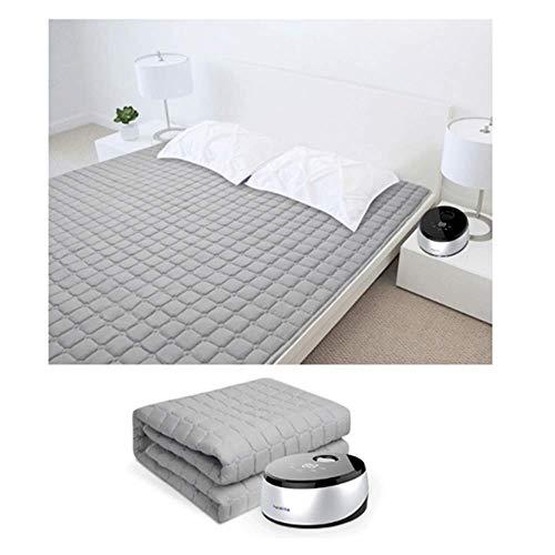 Heizdecke,Sanitär Heizdecke Mit Smart Panel,Doppelbett WasserzirkulationWärmeunterbett,Keine StrahlungStumm Matratzenheizung