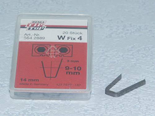 Rema Tip Top Schneidmesser für Rubber Cut 414, 400, W Fix 4 20 Stück, Reifen-Nachschneidmesser, Profilschneidmesser 564288