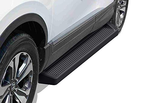 APS iBoard Running Boards (Nerf Bars Side Steps Step Bars) Compatible with CR-V 2017-2021 (Black Powder Coated Running Board Style)
