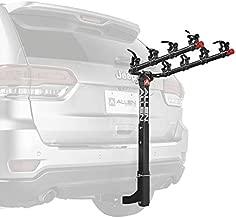 Allen Sports Deluxe 4-Bike Hitch Mount Rack (2-Inch Receiver) , Black