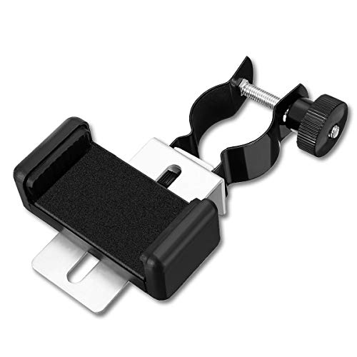 Telescope Phone Adapter, Universal Telescope Microscope Spotting Scope Cell Phone Bracket Mount Telescope Accessories - Realize Real-Time Share & Record The Nature of The World