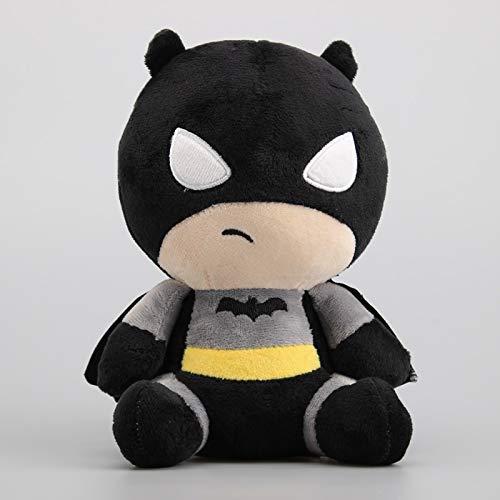 danyangshop Peluches Figuras De Superhéroes Liga De La Justicia Peluches Flash Y Batman Joker Harleen Quinzel Muñecas De Peluche Regalo para Niños 18-20 Cm