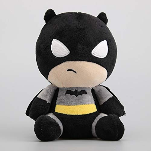 wqmdeshop Peluche Super Eroe Figure Giocattoli di Peluche Justice League Flash & Batman Joker Harleen Quinzel Bambole Farcite Regalo per Bambini 18-20 Cm