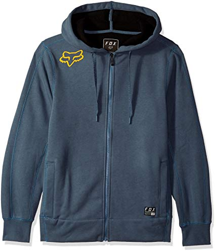 Fox Herren Reformed Bonded Sherpa Zip Fleece Kapuzenpulli, Blue Steel, Medium