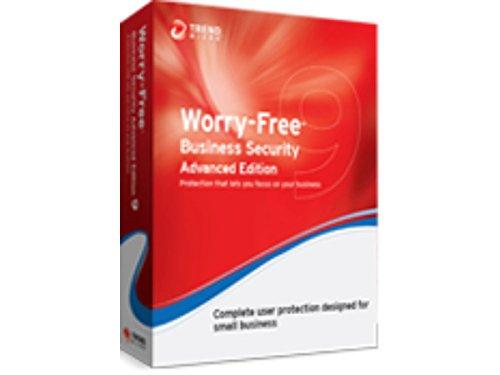 Trend Micro Worry-Free 9, ADV, REN, 15 US, 1Y - antivirus security software (ADV, REN, 15 US, 1Y, Intel Pentium 4, Renewal, PC, Mac)