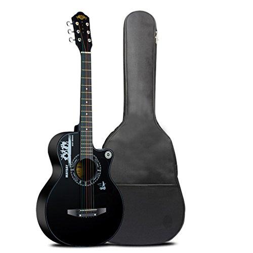 Geschikt voor kindergitaar Student entry akoestische gitaar Beginner beginnende gitaar instrument Gepersonaliseerde 38-inch akoestische gitaar Ontspannend instrument Concert koor instrument ( Send a Gift )