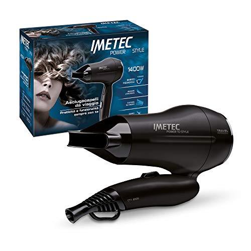 Imetec Power to Style Travel CT1 2000 Asciugacapelli da Viaggio