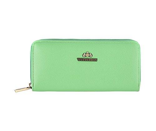 WITTCHEN Elegante Geldbörse Damen/Geldbeutel Portemonnaie aus Leder 19x9cm 13-1-393-0
