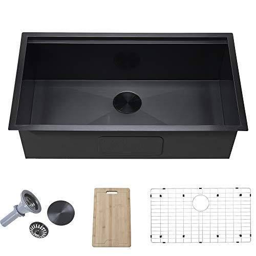 33 Inch Stainless Steel Kitchen Sink