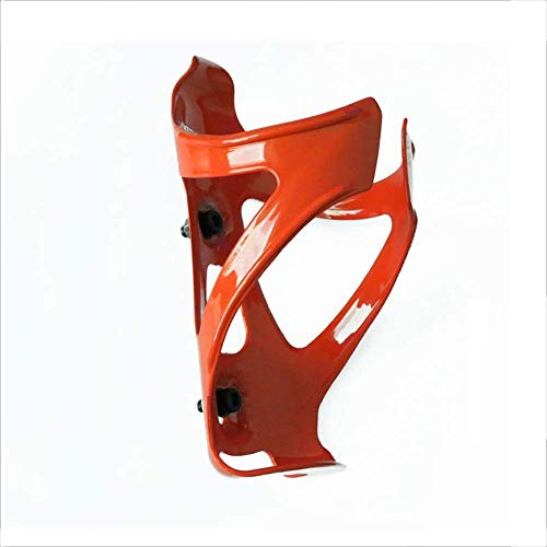 PYROJEWEL Nylon Fibre Porte-Bouteille Cycliste Eau Porte-Bouteille Cage Accessoires Vélo Vélo Cage Bouteille d'eau (Couleur: Orange, Taille: Taille) Accessoires