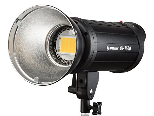 Bresser SN-1500 Power - Lámpara led de Estudio, Color Negro