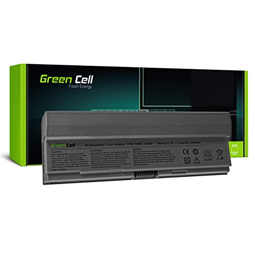 Green Cell Battery for Dell Latitude E4200 E4200n PP15S Laptop (4400mAh 11.1V Silver)