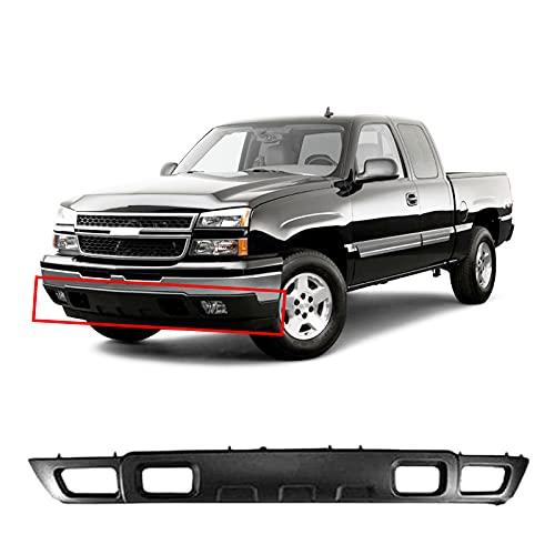 03 chevy silverado front bumper - 1