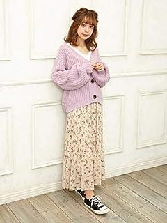 INGNI(イング)花柄シフォンプリーツ/スカート