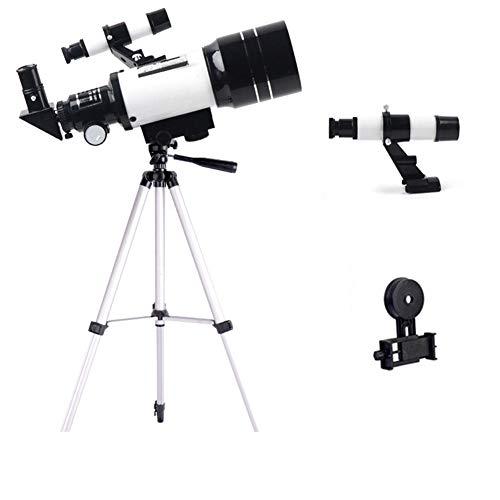 GKD Travel Scope 70Mm 300Mm Telescopio Astronómico Monocular Al Aire Libre Profesional Spotting con El Trípode para Niños Y Principiantes