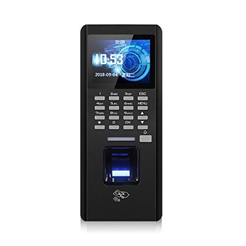 Zeitmaschine Fingerprint Zeiterfassung Swipe Maschine Passwort Integriertes Lock System Für Büro, Schule