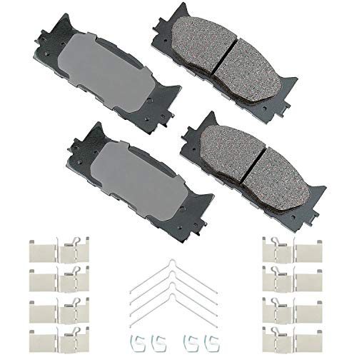 Akebono ACT1222A Ultra-Premium Ceramic Front Disc Brake Pads