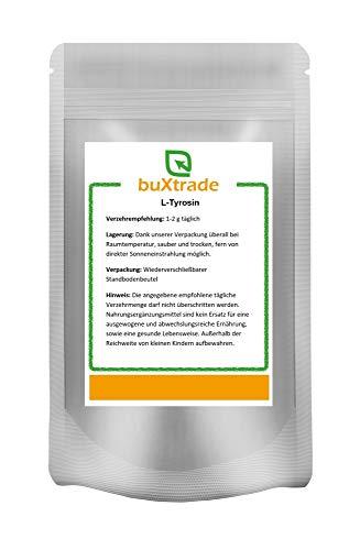 250 g L-Tyrosin Pulver | Muskelaufbau | Aminosäure | Aufputschmittel | Nahrungsergänzungsmittel |