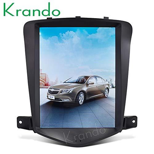 Autoradio Krando Android 6 10.4 Zoll Vertikal-Bildschirm Tesla DVD GPS Radio für Chevrolet Cruze 2009-2014