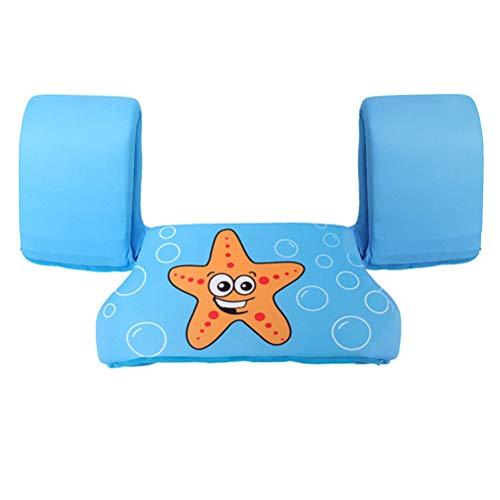 Creacom Kinder Cartoon Schwimmweste mit Armbändern, Cartoon Schwimmweste mit Armbändern Kinder Schwimmtrainingshilfen zum Schwimmenlernen