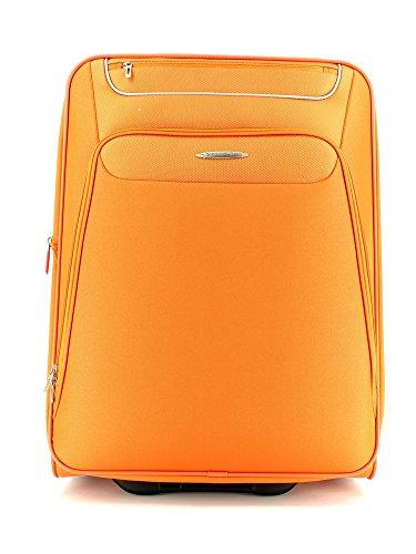 Trolley medio 2 ruote Roncato Runner 407242 cm 63x45x28/32 kg. 3,90 lt. 76/85 espandibile colore arancione