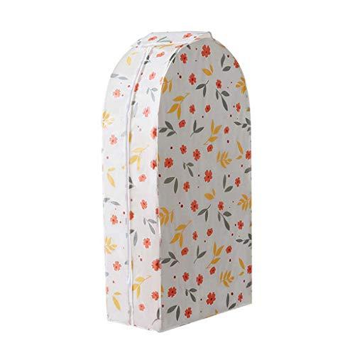 SMEJS Cubierta de Ropa Impermeable Impermeable estereoscópica para Vestimenta de Vestimenta de Vestimenta de Vestimenta Ropa Grande Mejor Bolsa de Polvo (Color : B, Size : Small)