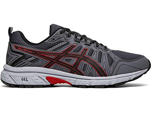 ASICS Men's Gel-Venture 7 Running Shoes, 10M, Black/Classic RED