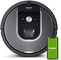 iRobot Roomba 960 Robot Aspirador, Succión 5 Veces Superior, Cepillos de Goma Antienredos, Sensores Dirt Detect, Wifi,...