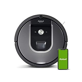 iRobot Roomba 960, aspirateur robot avec forte puissance d'aspiration, 2 brosses anti-emmêlement, idéal pour animaux, capteurs de poussière, parfait sur tapis et sols, connecté, programmable via app (B01IEEVDOK)   Amazon price tracker / tracking, Amazon price history charts, Amazon price watches, Amazon price drop alerts