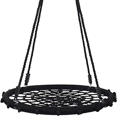 Yorbay® nestschommel bord schommel voor kinderen (Zwart, 120 cm)