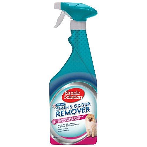 Simple Solution Einfache Lösung Flecken und Geruchsentferner mit Frühlingsbrise Duft, 750 ml