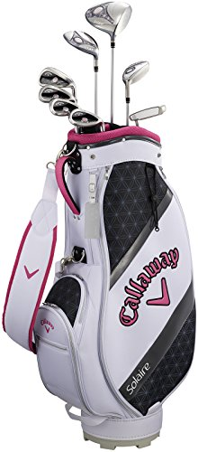 Callaway(キャロウェイ) クラブセット SOLAIREレディース用 8本 キャディバック付き 2018年モデル ピンク