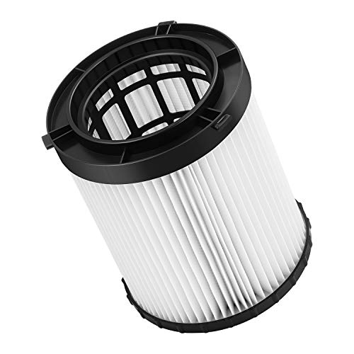 isinlive 1 Pack DC500 (DC5001H) True HEPA Replacement Filter for DEWALT DC500 Cordless/Corded Wet/Dry Vacuums
