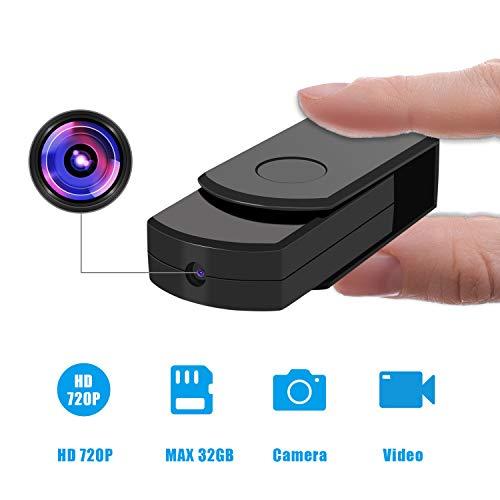 USB Mini Spy Hidden Camera, 2 in1 USB Disk Loop Recording Portable Mini HD Spy Camera(Card NOT Included)