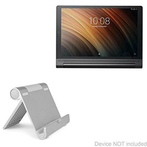 Lenovo Yoga Tab 3 Plus Stand and Mount, BoxWave [VersaView Aluminum Stand] Portable, Multi Angle Viewing Stand for Lenovo Yoga Tab 3 Plus