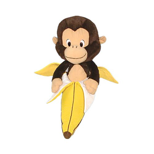 ToySource Bananas The Monkey 10 in Plush Collectible Toy Bananas The Spotted Toad Plush Toy, Random