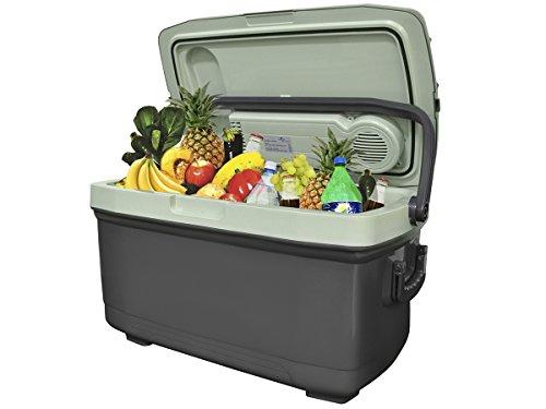 MALATEC Elektrische 45 L Kühlbox Wärmebox Campingbox 12V / 230V Stecker 5127
