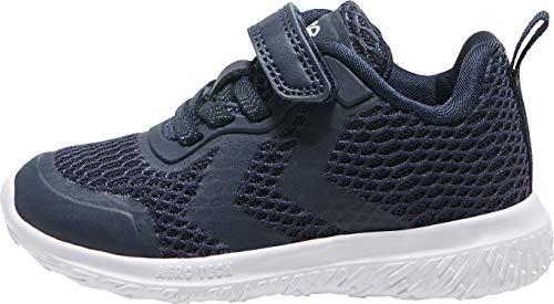 hummel Unisex-Kinder ACTUS ML Infant Sneaker, Black Iris, 25 EU